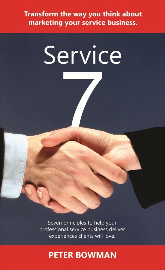 Service Marketing book cover - Service 7